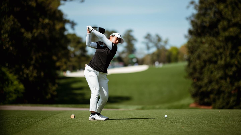 Tsubasa Kajitani at the 2021 Augusta National Women's Amateur. image